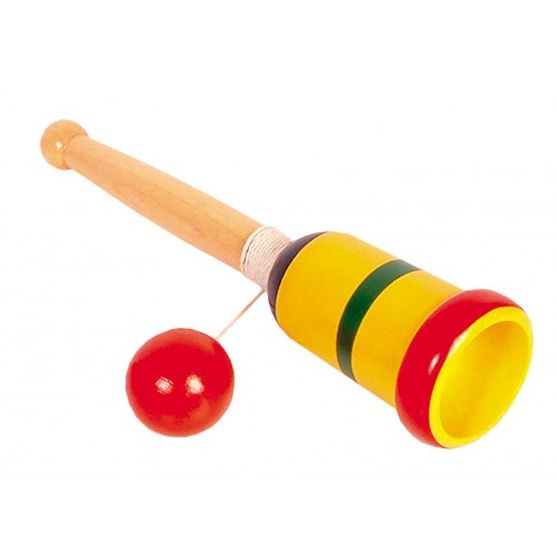 Wooden Ball & Cup Game