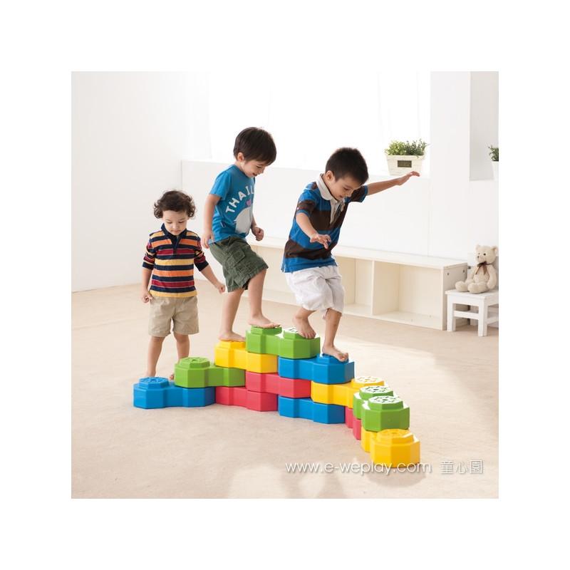Weplay Octagon Creative Blocks 12-Piece Set