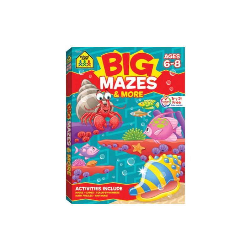 Big Workbook Mazes  (Grades 1-3)