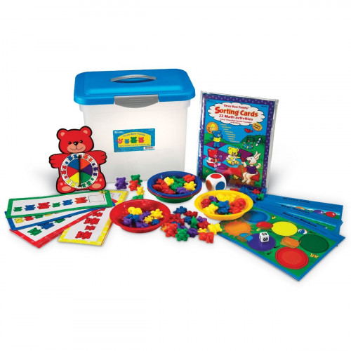 The Original Three Bear Family® Sort, Pattern & Play Set