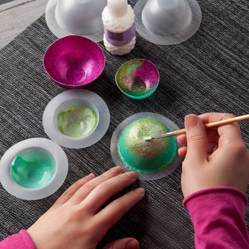Mini Glitter Bowls Kit