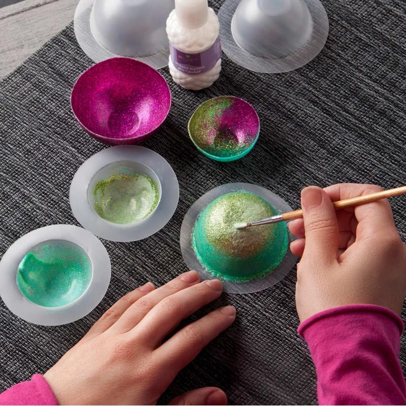 Mini Glitter Bowls Kit