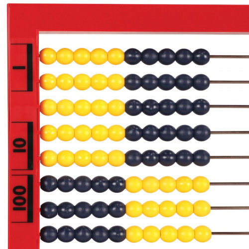 Two Colour Desktop Abacus