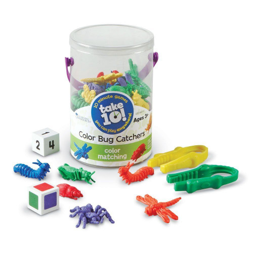 Take 10! Color Bug Catchers Game