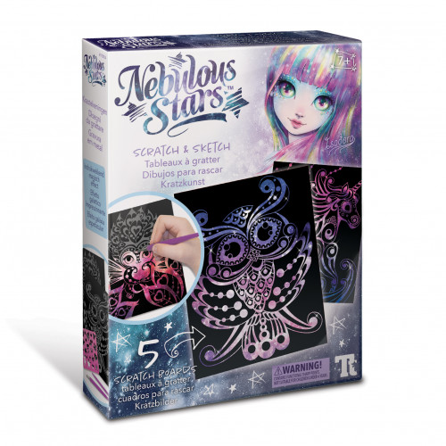 Scratch & Sketch - Nebulous Stars