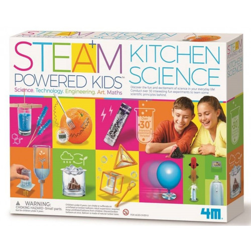 Steam Powered Kitchen Science Kit (4M)