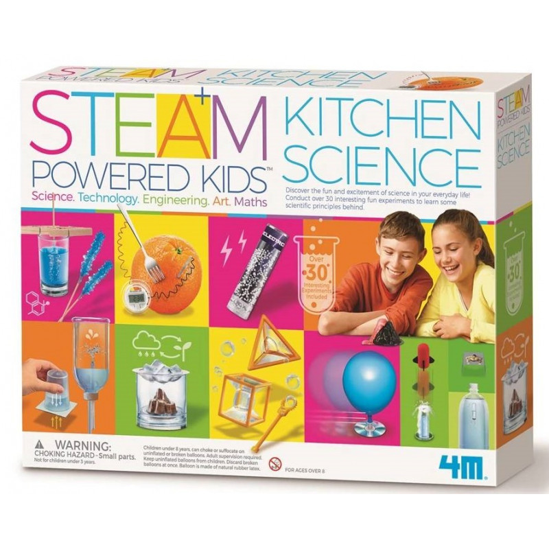 Steam Deluxe Kitchen Science Kit (4M)