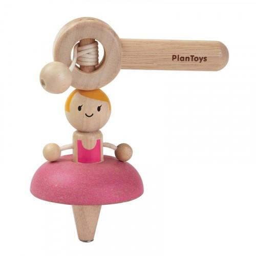Plan Toys Ballet Top Spin