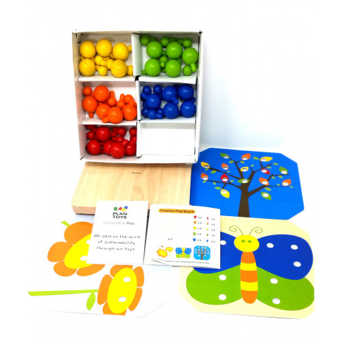 Plan Toys Creative Peg board
