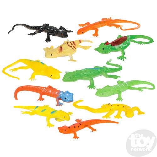 """3x Stretch Gecko (3"""")"""