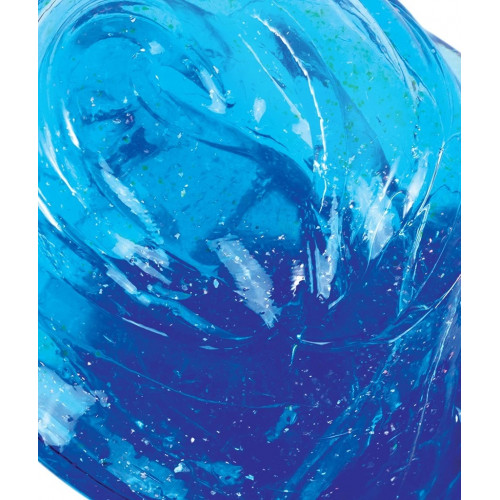 "Crazy Aaron's Transparent Thinking Putty - 4"" Falling Water Liquid Glass Tin"