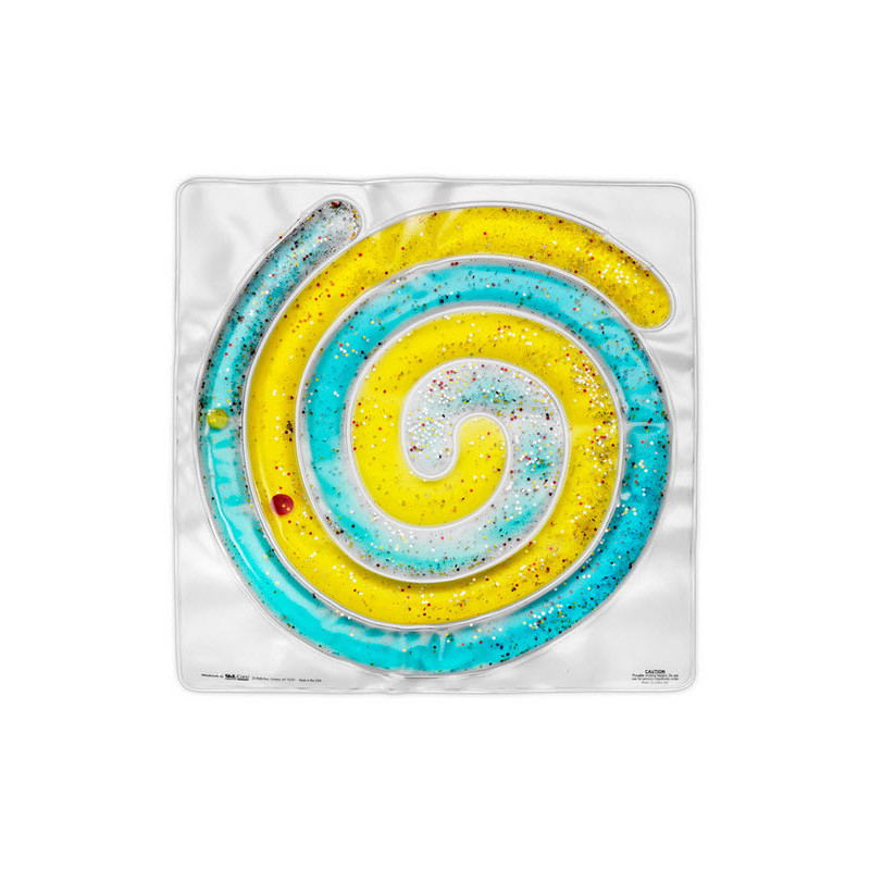 "Spiral Gel Pad Translucent (15"" x 15"")"