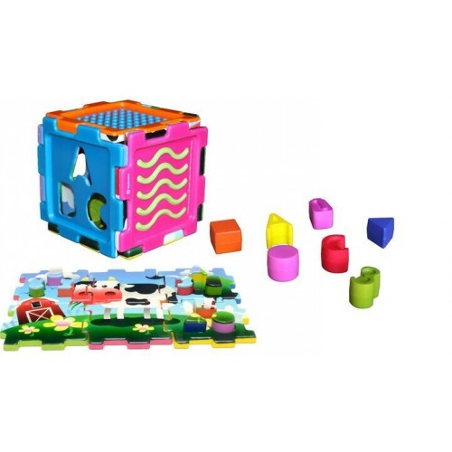Sensory Fun Cube (multi-function)