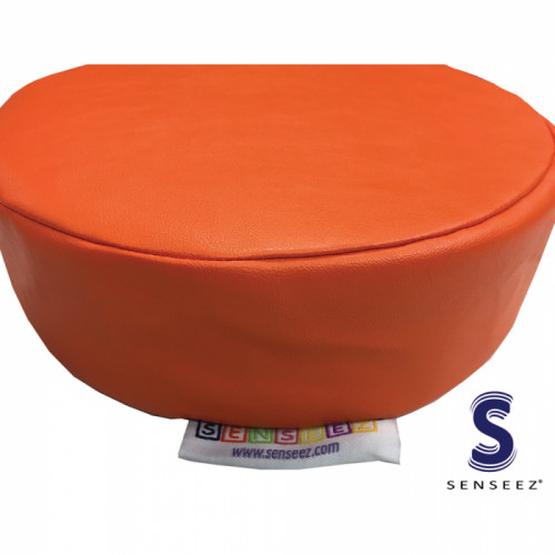 Senseez Vibrating Sensory Cushion - Orange Circle