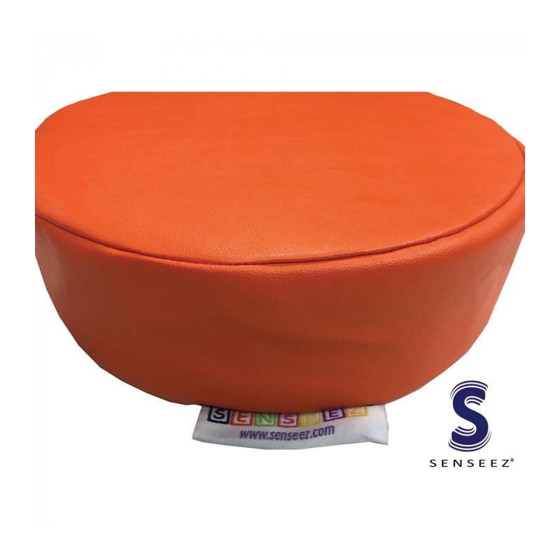 Senseez Vibrating Sensory Cushion - Orange Circle
