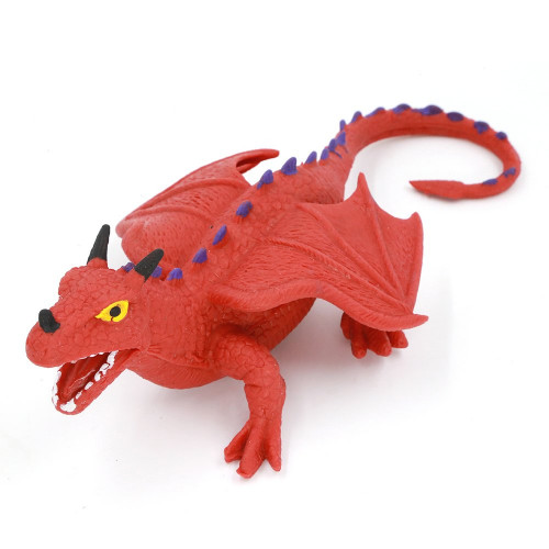 """Stretchy Rubber Dragon (8"""")"""