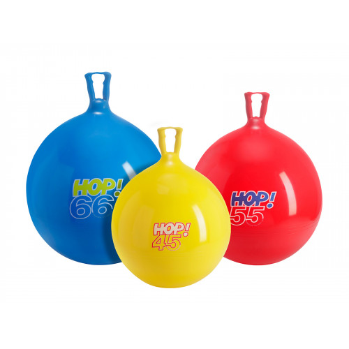 Hop Jumping Ball with handle