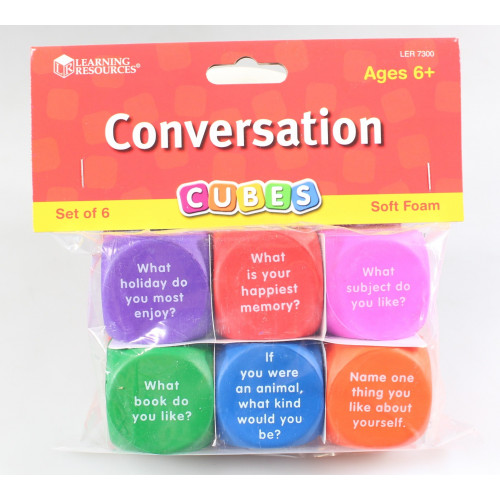 Conversation Cubes- Learning Resources