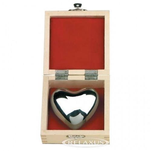 Harmony Silver Heart Chime