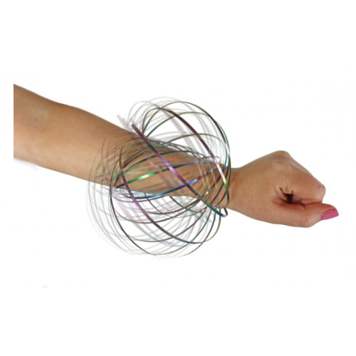 Spring Flex Rainbow Ring Toy