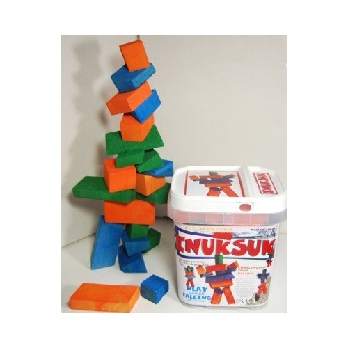 Inuksuk Wooden Block Stacking Game