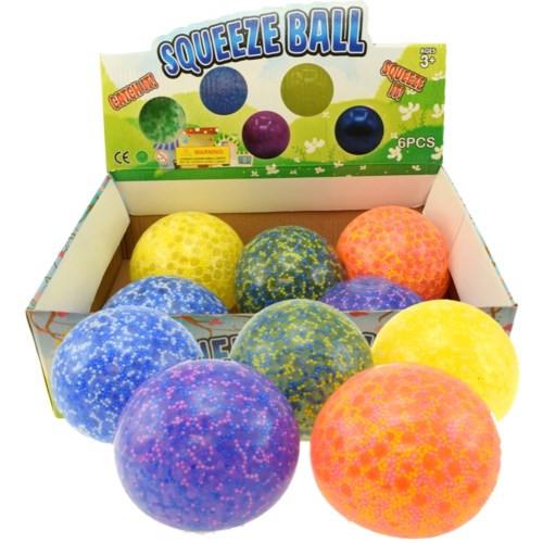 Large Squeeze Foam Beadball (10cm)