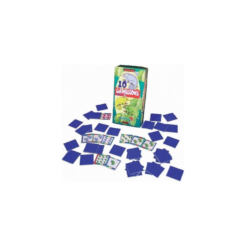 10 Chameleons Game (Math, strategy & memory)
