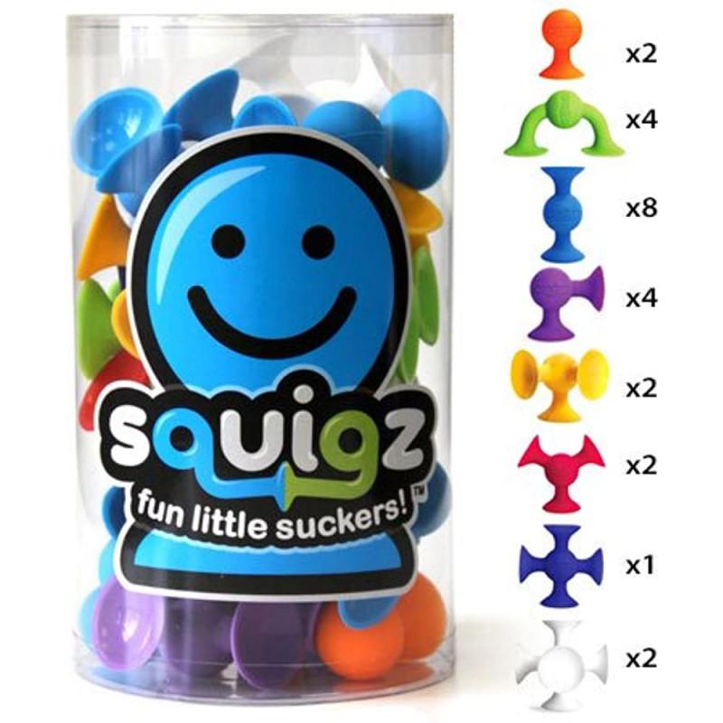 Squigz - Starter Set (Bilingual)