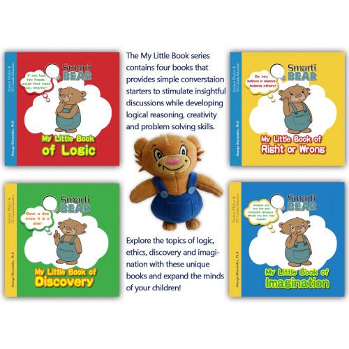Smarti Bear Gift Pack (4 books & Plush)