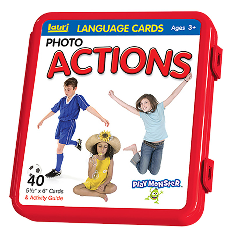 Action Verb Language Cards