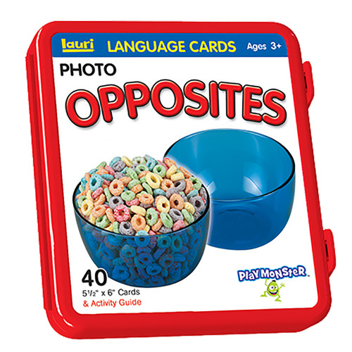 Opposites Language Cards - Playmonster