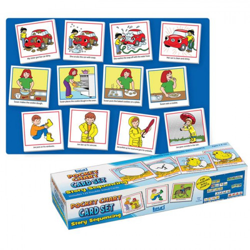 Story Sequencing Pocket Chart Cards