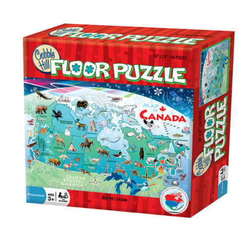 Map of Canada Large Floor Puzzle