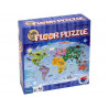 Map of the World Large Floor Puzzle