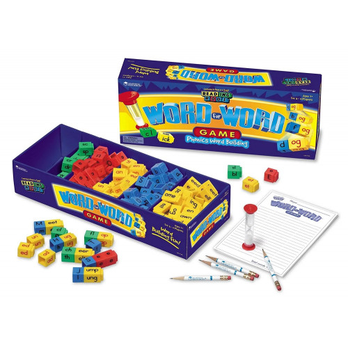 Reading Rods® Word for Word® Phonics Word Building Game