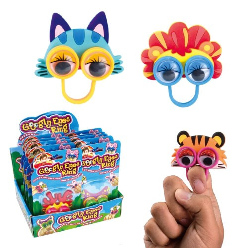 Googly Eye Animal Ring Puppet