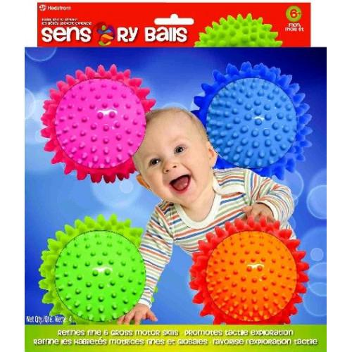 Mini Sensory Balls (4 pack)