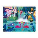 Janods-Tactile Puzzle ' Jungle Surprise' 20pcs
