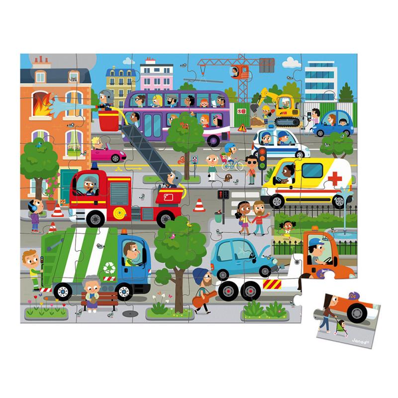 Puzzle City -Janod
