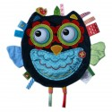 Label Label Owl Sensory Fleece Blanket