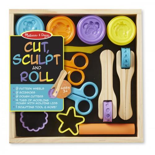 Cut, Sculpt & Roll Clay / Dough Play Set