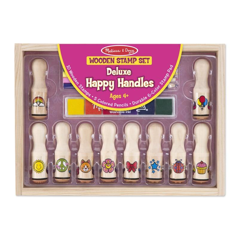 Deluxe Happy Handle Stamp Set