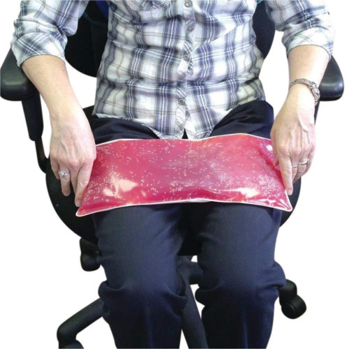 Weighted Rectangular Lap Pad (Red 3lbs)