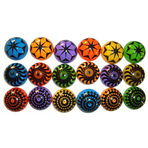 Geometric Dome Popper (4 Pack)