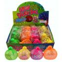 Mesh Squish Glitter Ball