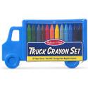 Truck Crayon Set (12 Colours) -Melissa & Doug