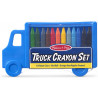 Truck Crayon Set (12 Colours) -Melissa & Doug