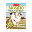 Mosaic Sticker Pad (Safari) - Melissa & Doug
