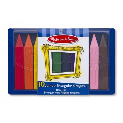 Jumbo Triangular Crayons - Melissa & Doug