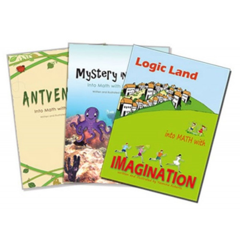 Into Math with imagination series (3 Books)